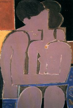 Yannis Moralis / Γιάννης Μόραλης is an outstanding figure in Modern Greek painting. He became a professor at the School of Fine Arts at a very early age and for years taught the younger generations of Greek painters. Illustrations, Illustration Art, Art Amour, Modern Art, Contemporary Art, Greek Paintings, Art Antique, Greek Art, Couple Art