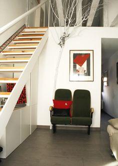 La casita del árbol   RÄL167 - Interiorismo, decoración, reforma y diseño de interiores Stairs, Home Decor, Apartments, Interior Design, House Decorations, Stairway, Decoration Home, Room Decor