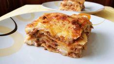 Λαζάνια με κιμά και εύκολη κρέμα!! - YouTube Cookbook Recipes, Cooking Recipes, Lasagna, Ethnic Recipes, Food, Youtube, Drinks, Greek Recipes, Lasagne