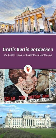 Was ihr in Berlin alles gratis entdecken könnt, erfahrt ihr bei uns via Urlaubspiraten.de