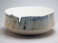 Ani Kasten Winter Landscape Bowl, 2008 click the image or link for more info. Ceramic Pots, Ceramic Pottery, Pottery Art, Slab Pottery, Pottery Studio, Earthenware, Stoneware, Clay Bowl, Japanese Pottery