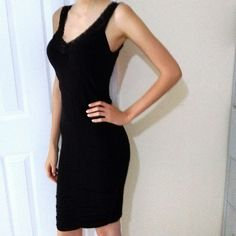 Tight black dress Brand new figure fitting black dress by Connection 18. Size small/medium retails for $24 connection 18 Dresses Midi