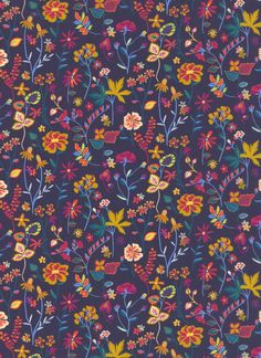 100% cotton Liberty Tana Lawn.    Approximately 137cm in width.     Textile Design, Floral Design, The Strawberry Thief, Liberty Art Fabrics, S Diary, Gouache, Lawn, Art Gallery, Cotton