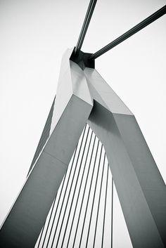 De Zwaan (Swan Bridge), Rotterdam. #greetingsfromnl