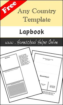 Any Country Lapbook