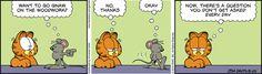 Garfield Comic Strip, August 25, 2016     on GoComics.com