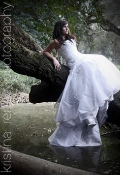 Kristina Renee Photography-  Trash the wedding dress amazingness