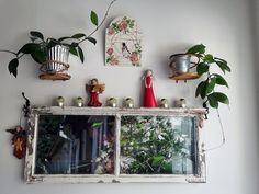 #ikkunapoka #taulu Bar Cart, Furniture, Home Decor, Room Decor, Home Interior Design, Home Decoration, Interior Decorating, Home Improvement