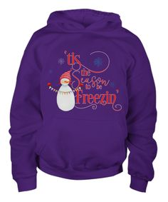 Funny Snowman Tis The Season To Be Freezin Long Sleeve Youth Hoodie Funny Snowman, Youth, Comfy, Hoodies, Long Sleeve, Sweaters, Christmas, T Shirt, Kids