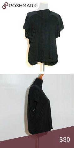 Short sleeve V-neck silk top Classiques Entier 100% viscose and silk Classiques Entier Tops Blouses
