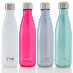 S'well Water Bottle from See Jane Work. Shop more products from See Jane Work on Wanelo. Swell Water Bottle, Cute Water Bottles, Best Water Bottle, Drink Bottles, Chalene Johnson, Cute Cups, Wellness, Mugs, Fitness Shirts