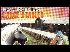 Quick Build | Equus Stables | Ark Survival - YouTube