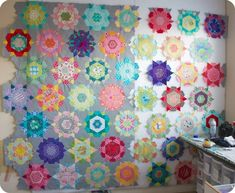 WIP Wednesday: Rose Star Quilt Update