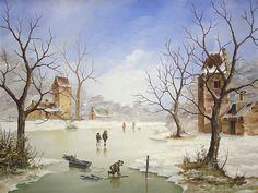 Winter Landscape by Jenof