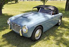 1951 Siata Daina Gran Sport Cabriolet 1400cc 4-Cylinder OHV 72bhp Engine