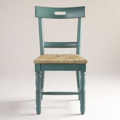 Camille Chairs with Rush Seat, Set of 2 | World Market--I want these in my kitchen!!