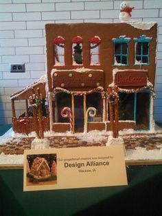 Gingerbread house store Gingerbread, Holidays, Store, House, Design, Wedding Ring, Tent, Ginger Beard, Holiday