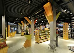 Love how much open space there is  - Tanum Karl Johan bookstore flagship by JVA, Oslo