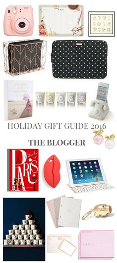 HOLIDAY GIFT GUIDE 2016 THE BLOGGER // Shoegal Out In The World