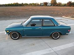 1972 Datsun 510 Maintenance/restoration of old/vintage vehicles: the material for new cogs/casters/gears/pads could be cast polyamide which I (Cast polyamide) can produce. My contact: tatjana.alic@windowslive.com