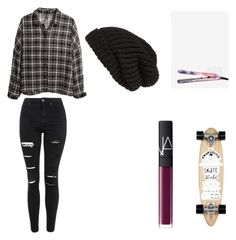 """""""Skater"""" by irmakuns on Polyvore featuring Eva NYC, H&M, Tarnish, Isabel Marant, Topshop and NARS Cosmetics"""