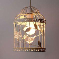 Bethany Birdcage Pendant