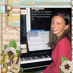 I love that our grandchildren enjoy making music so much!  I love to hear them play the keyboards, and the guitars, and the violins!!  Wonderful!! I used the re-release Perfect Harmony from Digilicious Design found here:  http://www.sweetshoppedesigns.com/sweetshoppe/product.php?productid=28843&cat=696&page=3  I also used a free template from Southern Serenity Designs by Amber Morrison!