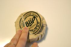 How to Package Round Soap Using Coffee Filters