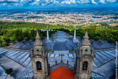 Santuario do Sameiro en Braga | Turismo en Portugal #braga #sameiro #portugal #turismo