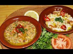 الفول المتبل المدمس والمسبحة Chef Ahmad AllCooking/Foul And Musabaha - YouTube