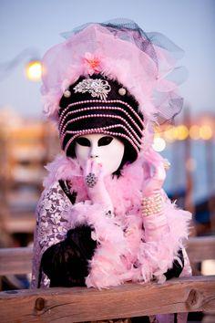 Masquerade (Halloween Gala) these masks we wear / karen cox. pink♔PM