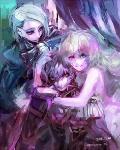 Tokio Ghoul   •●•♡》♛♟❁♞☄☽샤론 엘리차베스☾☄ ♞❁♟♛《♡•●•  ~Imagen via WeHeartit~.