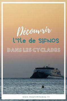 Je vous présente Sifnos, une île des Cyclades moins connue que ses voisines Paros et Milos mais tout aussi belle ! Pour la visiter nous ne sommes restés que 2 jours mais je vous conseille d'y passer 3 ou 4 jours. On y trouve de belles ruelles blanches, fleuries avec les églises aux domes bleus et l'eau est cristalline. Connue pour être l'île des randonnées elle compte de nombreux sentiers où vous pouvez marcher. De très belles plages également. #sifnos |Visiter Sifnos | Village Sifnos | Cyclades Destinations D'europe, Travel Photographie, Weekend France, Voyage Europe, Photos Voyages, Paros, Greece Travel, Week End, Beach