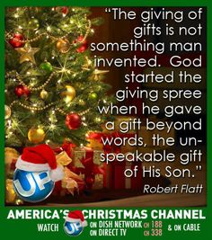 Meaning of the old saying christmas eve gift