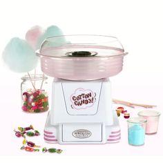 Máquina de #algodondeazucar  Realizar algodón de azúcar te será muy fácil!! Ideal para Cumpleaños, fiestas, recepciones ...