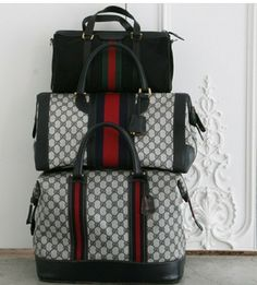 5a92af5bf842a9 Gucci Handbags, Purses And Handbags, Leather Handbags, Fabric Handbags, Vintage  Gucci, Gucci Travel Bag, Travel Bags, Fashion Bags, Suitcases