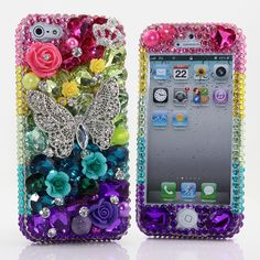 Style # 453: This Bling case can be handcrafted for iPhone 4/4S, 5, 5S, all Samsung Galaxy models (S3, S4, Note 2, 3). Our professional designers will handcraft a case for you in as little as 2 weeks. Click image for direct link