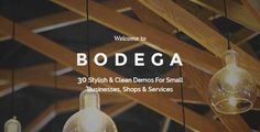 Download and review of Bodega - A Stylish Theme For Small Businesses, one of the best Themeforest Multipurpose themes Review and download at -> http://best-wordpress-theme.net/bodega-a-stylish-small-businesses-download-review/