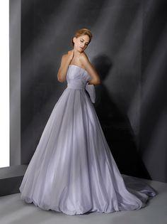 Amazing lavender wedding dress