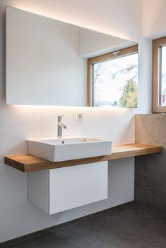 Vanity modern bathroom by mannsperger furniture + room design modern - Vanity unit: modern bathrooms by Mannsperger Möbel + Raumdesign - Large Bathrooms, Small Bathroom, Master Bathroom, Modern Bathrooms, Bathroom Ideas, Unit Bathroom, Bathroom Organization, Bathroom Designs, Bathroom Makeovers