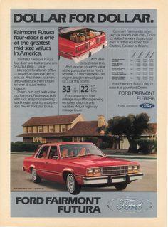 1982 Ford Fairmont Futura 4-Door Sedan