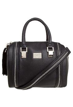 Bolsa Ellus Leather Denim Preta - Compre Agora | Dafiti Brasil