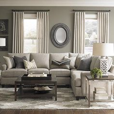 Living Room Ideas With Sectionals 5 favorite living rooms that you'll love too | grey sectional