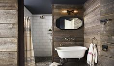 These 12 rustic washrooms will inspire your next reno