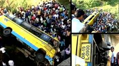 At least 30 persons were injured when their bus overturned on the outskirts of the city in Odisha. #BusAccident #Accident #Odisha #Westbengal