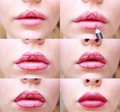 Makeup Trick: Fuller Lips Without Surgery |