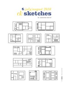 CK Sketches variations download; lots of photos; many photos