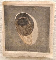 Interstices: Eleanor Anderson's Fabric Art Textile Sculpture, Textile Fiber Art, Textile Artists, Contemporary Embroidery, Modern Embroidery, Embroidery Art, Textiles Sketchbook, Thread Art, Quilt Stitching