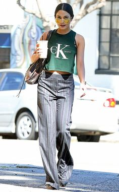Vanessa Hudgens from The Big Picture: Today's Hot Photos Cool girl! The fashionista shows off her hip style in L.A.