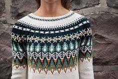 Ravelry: Bistort Pullover pattern by Courtney Spainhower Knitting Patterns, Crochet Patterns, Icelandic Sweaters, Fair Isle Pattern, Knitting Blogs, Fair Isle Knitting, Knit Picks, Ravelry, Knitwear